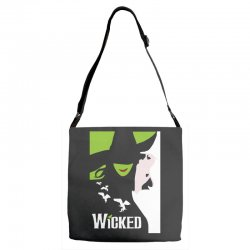 wicked broadway musical about wizard of oz Adjustable Strap Totes | Artistshot