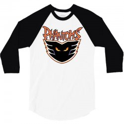 philadelphia phantoms ahl hockey sports 3/4 Sleeve Shirt | Artistshot