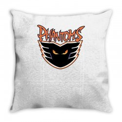 philadelphia phantoms ahl hockey sports Throw Pillow | Artistshot