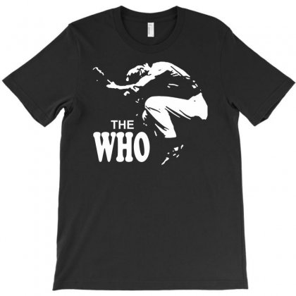 The Who Stencil T-shirt Designed By Iamar25