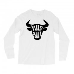 wild bull Long Sleeve Shirts | Artistshot