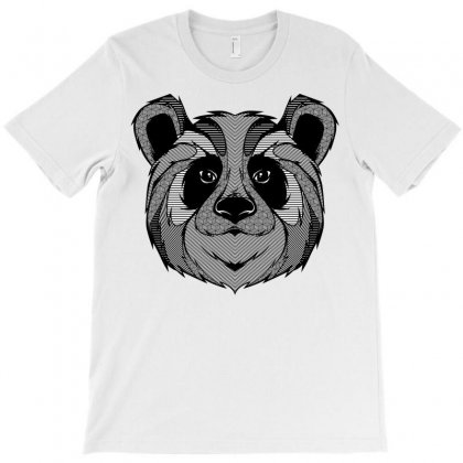 Panda Zentagle T-shirt Designed By Quilimo