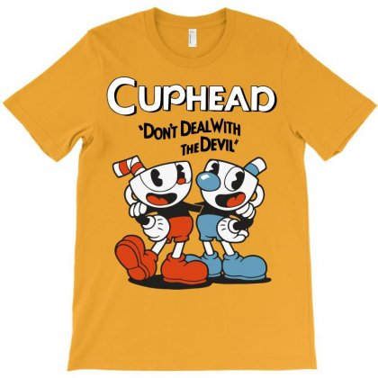 Cuphead Bros T-shirt Designed By Tabby