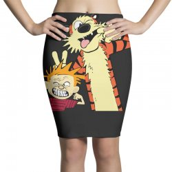 Calvin and hobbes Pencil Skirts | Artistshot