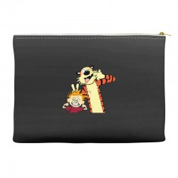 Calvin and hobbes Accessory Pouches | Artistshot