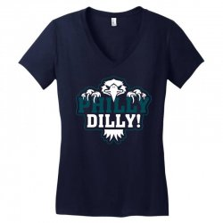 Philly Dilly Women's V-Neck T-Shirt | Artistshot