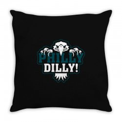 Philly Dilly Throw Pillow | Artistshot