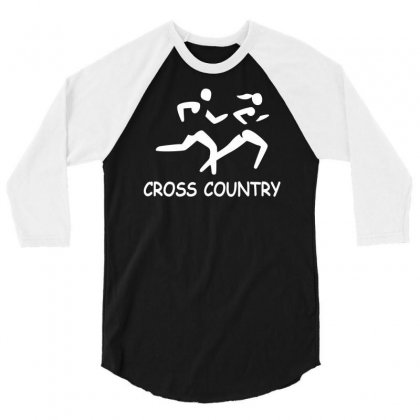 Cross Country High School Running 3/4 Sleeve Shirt Designed By Ysuryantini21