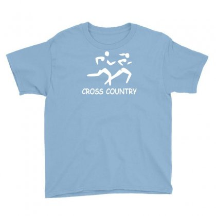 Cross Country High School Running Youth Tee Designed By Ysuryantini21