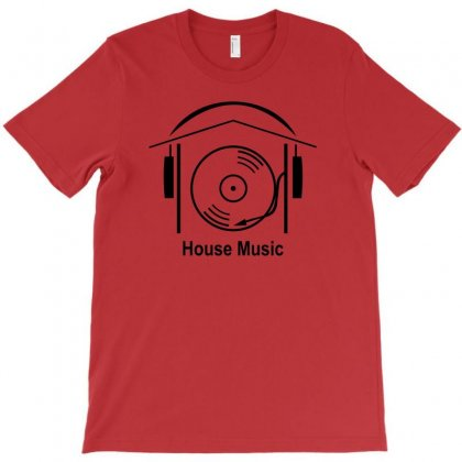 House Music T-shirt Designed By Ysuryantini21