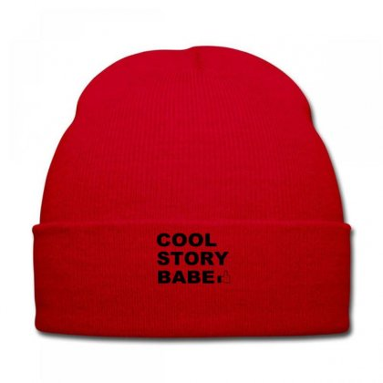 Cool Story Bro T Shirt Small Funny Awesome Meme Nerdy Geeky Humor Frat Knit Cap Designed By Ysuryantini21