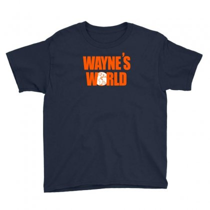 Waynes World Logo T Shirt Snl Saturday Night Live 90s Youth Tee Designed By Ysuryantini21