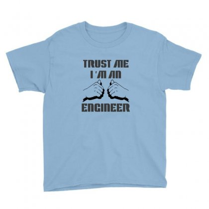 I'm An Engineer Youth Tee Designed By Ysuryantini21