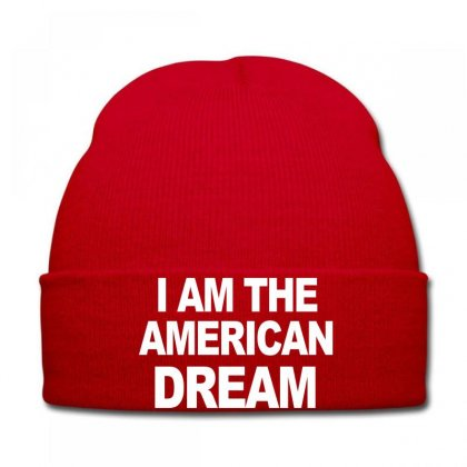 I Am The American Dream Funny Shirt Wire The Omar Knit Cap Designed By Ysuryantini21