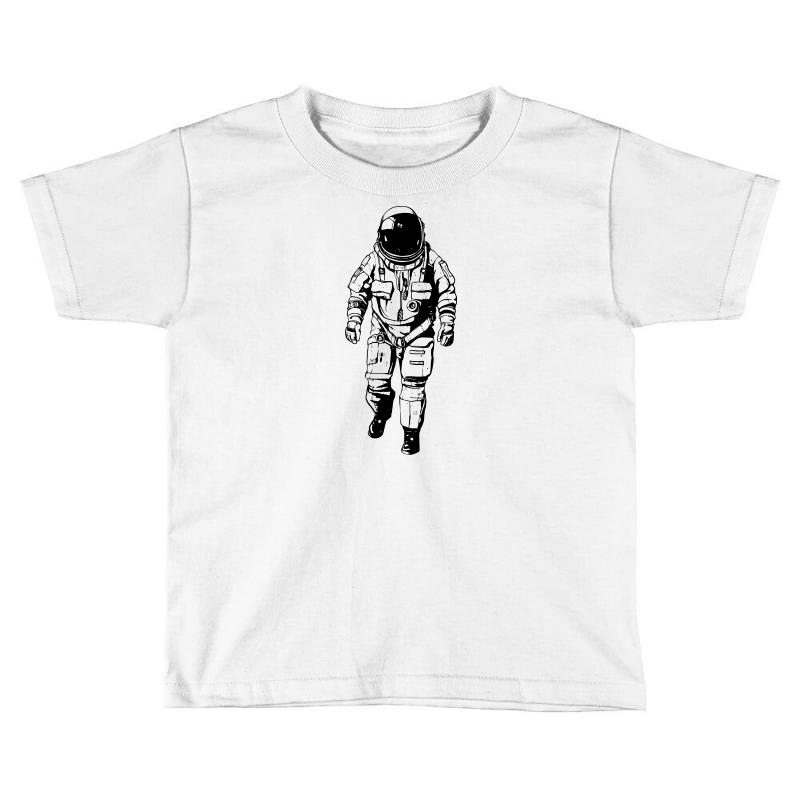 deadb47ec Custom Astronaut Toddler T-shirt By Sbm052017 - Artistshot