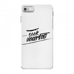 yes theory seek discomfort iPhone 7 Case | Artistshot