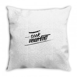 yes theory seek discomfort Throw Pillow | Artistshot