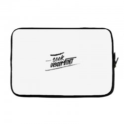 yes theory seek discomfort Laptop sleeve | Artistshot