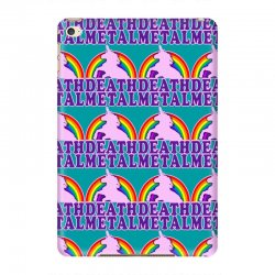 funny death metal unicorn rainbow iPad Mini 4 Case | Artistshot