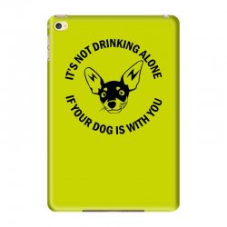 funny drinking dog iPad Mini 4 Case | Artistshot