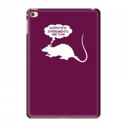 rat funny geek nerd scientific experiments are fun iPad Mini 4 Case | Artistshot