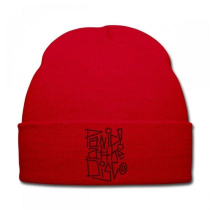 Panİc At The Dİsco Knit Cap Designed By Mdk Art