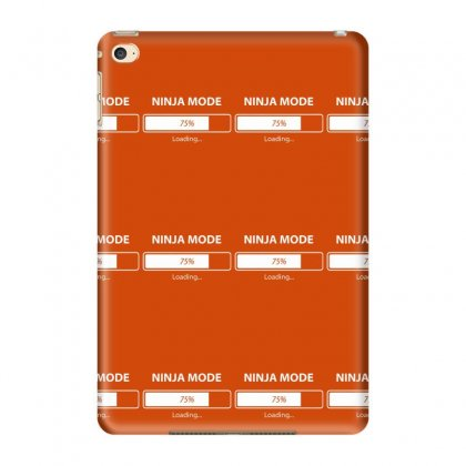 Ninja Mode Loading Ipad Mini 4 Case Designed By Tonyhaddearts