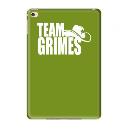 Team Grimes Walking Dead Ipad Mini 4 Case Designed By Tonyhaddearts