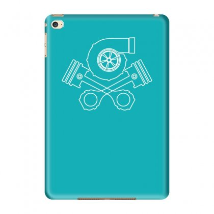 V8 Boost Tuning Jdm Turbo Drift Racing Ipad Mini 4 Case Designed By Tonyhaddearts