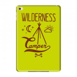 wilderness camper iPad Mini 4 Case | Artistshot