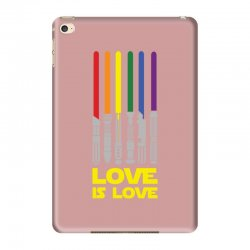 Lightsaber Rainbow - Love Is Love iPad Mini 4 | Artistshot
