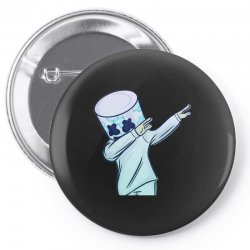 DABBING MARSHMELLO Pin-back button | Artistshot