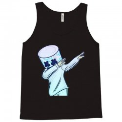b529c440be9274 Custom Dabbing Marshmello Tank Top By Mdk Art - Artistshot