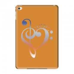 music expresses clef heart girls iPad Mini 4 Case | Artistshot