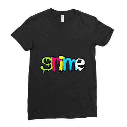Grİme Musİc Ladies Fitted T-shirt Designed By Mdk Art