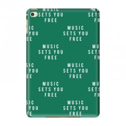 music sets you free iPad Mini 4 Case | Artistshot