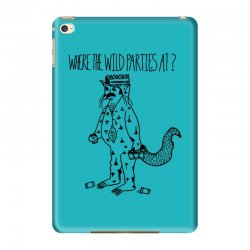 where the wild parties at iPad Mini 4 Case | Artistshot