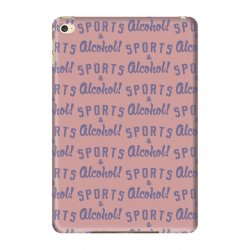 sports and alcohol! iPad Mini 4 Case | Artistshot