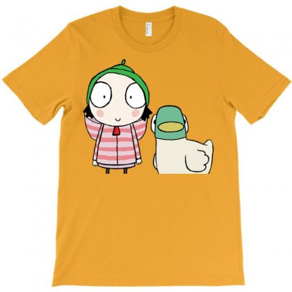 Sarah And Duck T-shirt Designed By Tabby