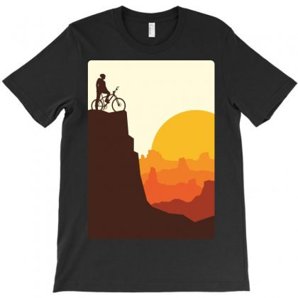 Break On The Mountain T-shirt Designed By Quilimo