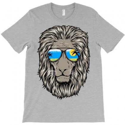 Summer Lion T-shirt Designed By Quilimo