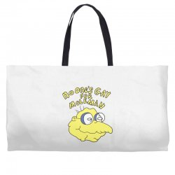 no one's gay for moleman Weekender Totes | Artistshot