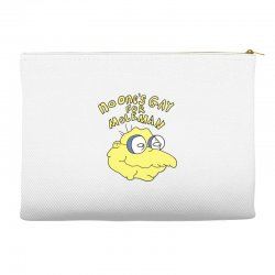 no one's gay for moleman Accessory Pouches | Artistshot