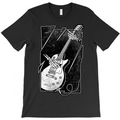 Guitarist T-shirt Designed By Quilimo