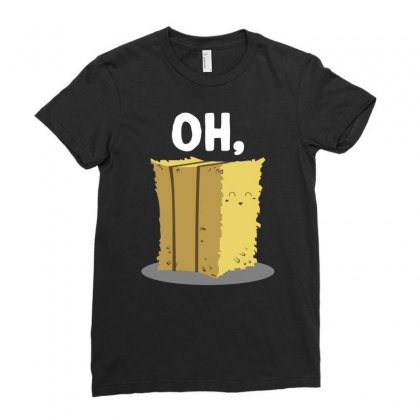 Oh Hay Oh Hey Girl Boy Funny Pun Ladies Fitted T-shirt Designed By Mir Art