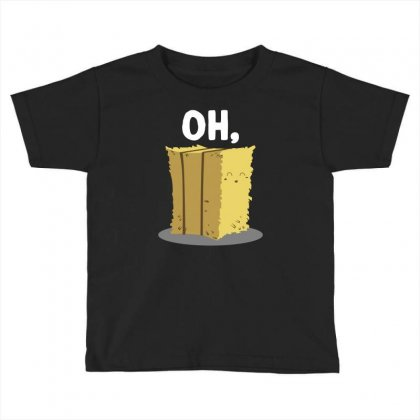 Oh Hay Oh Hey Girl Boy Funny Pun Toddler T-shirt Designed By Mir Art