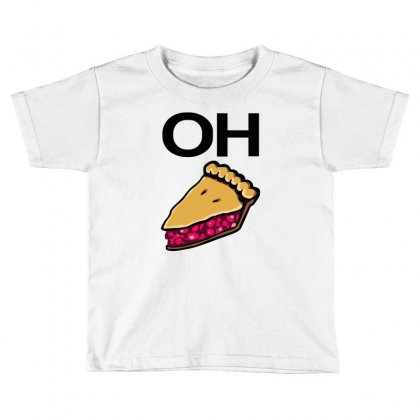 Oh Toddler T-shirt Designed By Mir Art