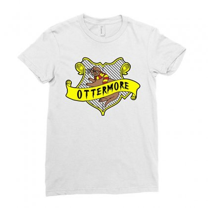 Ottermore Ladies Fitted T-shirt Designed By Mir Art