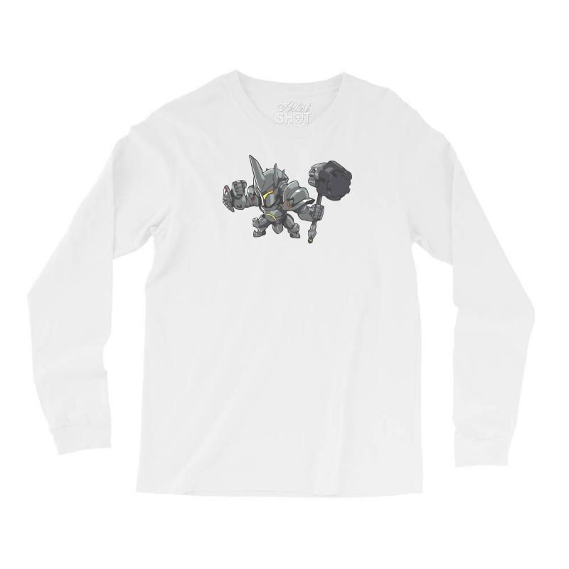29813b1f1 Custom Overwatch Reinhardt Cute Long Sleeve Shirts By Mir Art ...