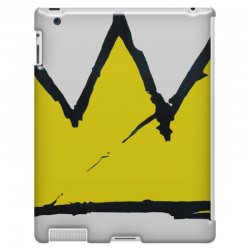 Basquiat Crown IPad 3 And 4 Case